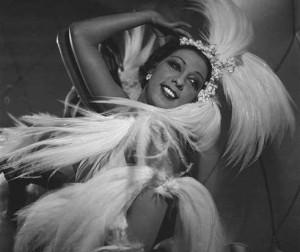 Joséphine Baker (1906-1975), artiste de music-hall américaine.     RV-210277bis